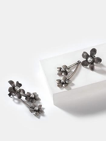 Trace L Earrings in 925 Silver