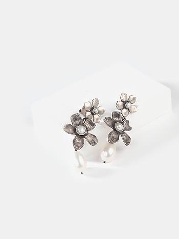Rei K Earrings in 925 Silver
