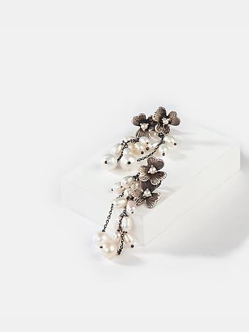 Joan C Earrings in 925 Silver