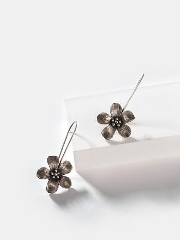 Anna F Earrings in 925 Silver