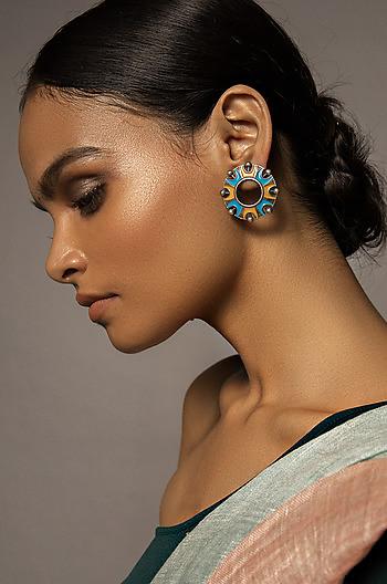 Chakra Dome Earrings