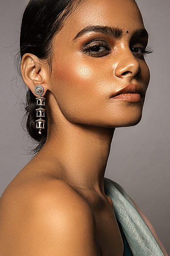 Antique Vamana Pillar Earrings