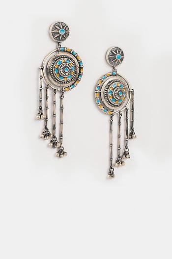 Antique Chakrika Wall Earrings