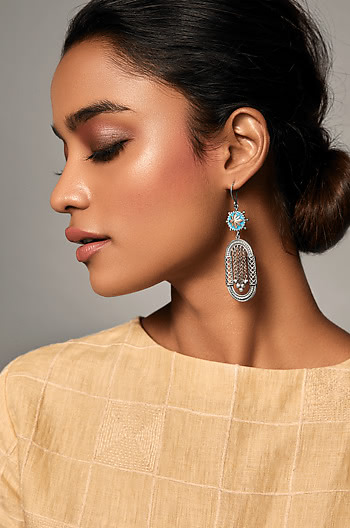 Sraj Jharokha Earrings