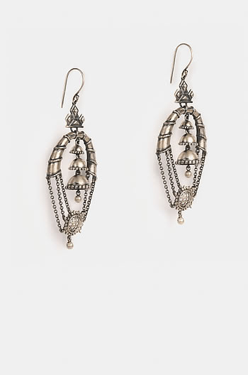 Antique Mallaka Jharokha Earrings
