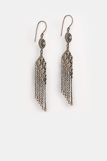 Antique Anvi Wall Earrings