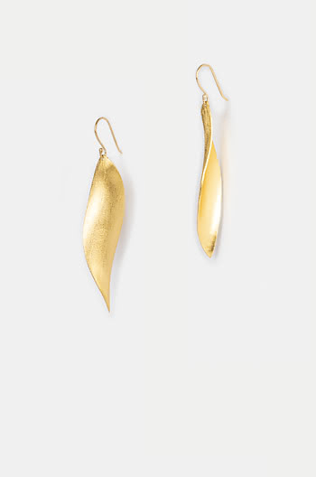Highlighter Earrings in Gold Plating