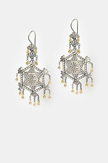 Antique Razia Shield Earrings