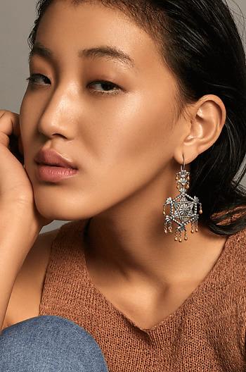 Razia Shield Earrings