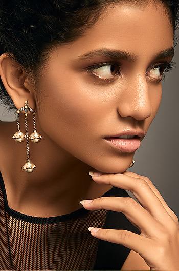 Antique Azizun Gada Earrings