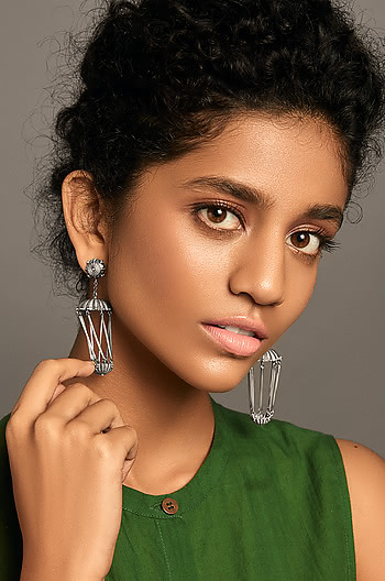Jhalkari Shield Earrings