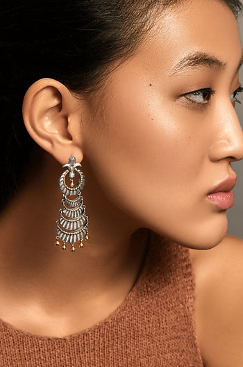Durgavati Sickle Earrings