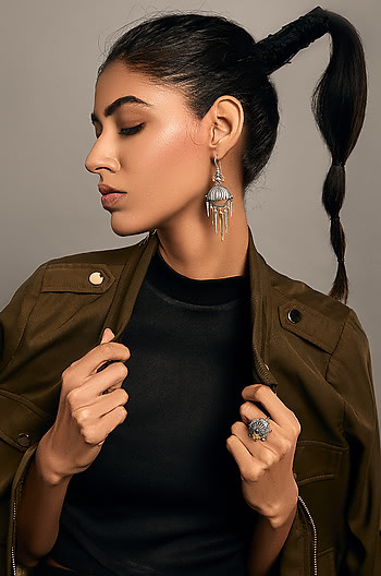 Antique Tarabai Arrow Earrings