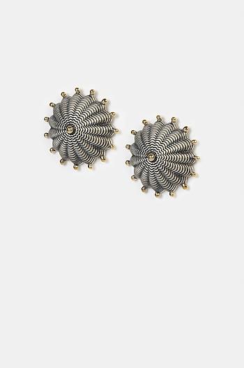 Antique Hariyakka Shield Earrings