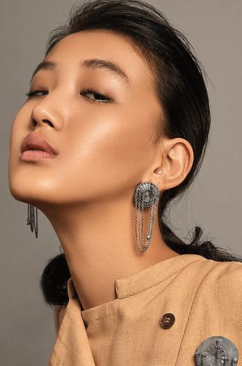 Telin Shield Earrings