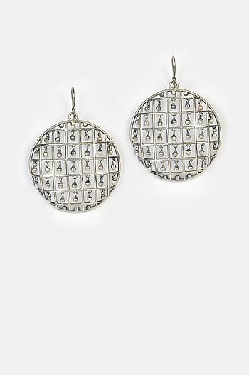 Sugandha Shield Earrings