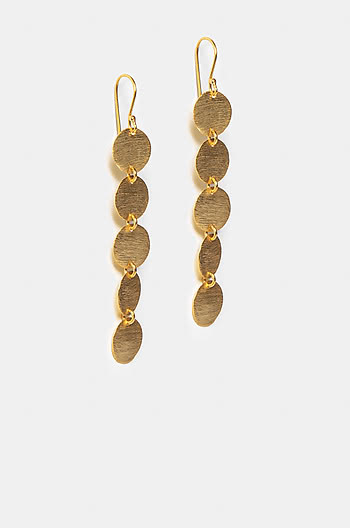 Vacay Mood Earrings in Gold Plating