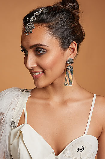 Gal on Fire Jhumkis