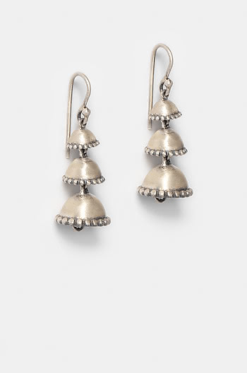 Antique Narah Pillar Earrings