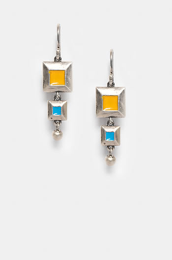 Antique Suhrit Wall Earrings