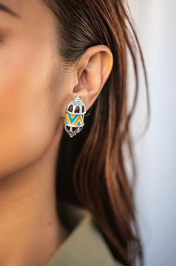 Antique Vartita Sculpture Earrings