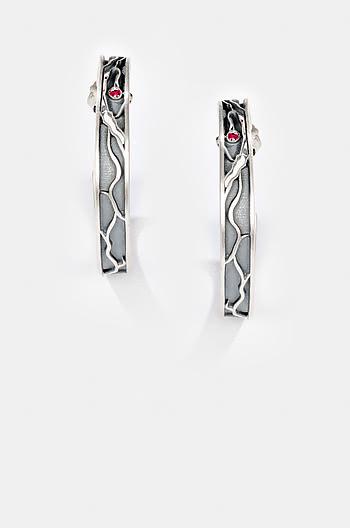 Flat Lips Earrings