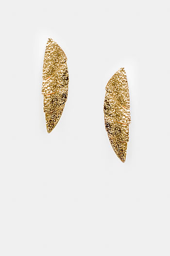 Moving On Earrings in Gold Plating