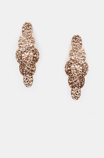 Younger Now Earrings in Rose Gold Plating