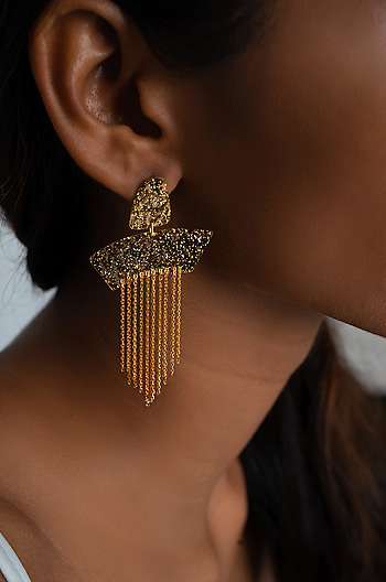 Senorita Earrings in Gold Plating