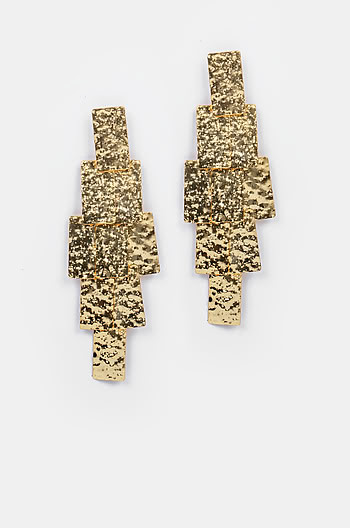 Rodeo Earrings in Gold Plating