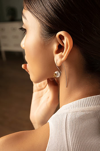 Pomegranate Bud Earrings
