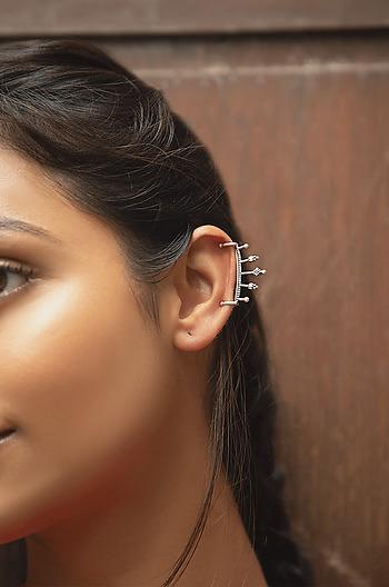 Antique Avvas Second Piercing Ke Earrings