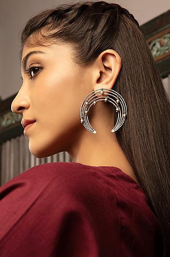 Antique Apis Mammas Heritage Earrings