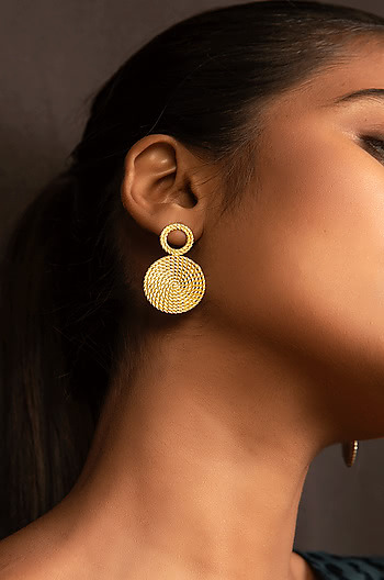 Perfect Wings Earrings in Gold Plating