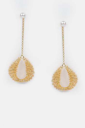 Never Too Much Earrings in Gold Plating