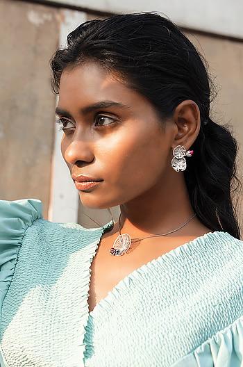 Rise Above Stigma Earrings in 925 Silver