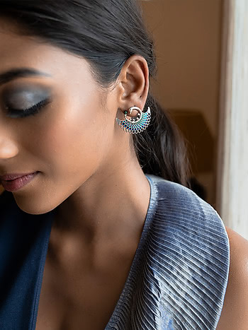 Owning My Perfectionist Tendencies Earrings in 925 Silver