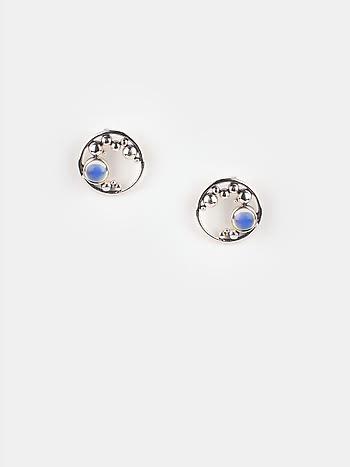 A Quiet Dawn Earrings in 925 Silver