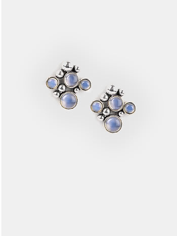 A Rediscovered Song Earrings in 925 Silver