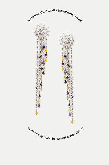 Haathi Motif Earrings