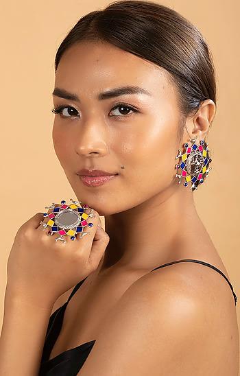 Bavaliyo Pattern Earrings