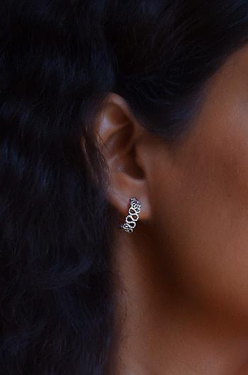 Nagmori Inspired Hoop Earrings