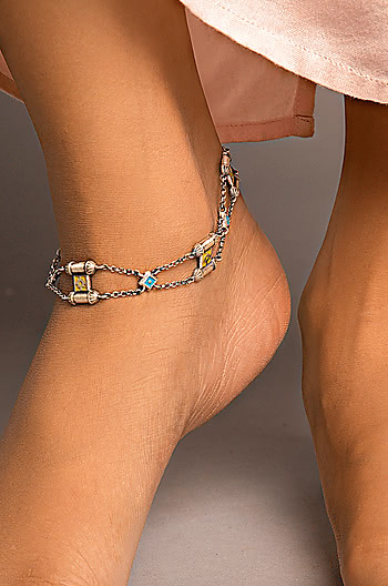 Antique Asat Wall Anklet