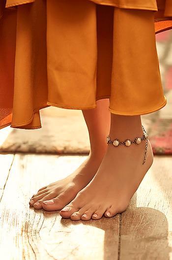 Antique Vijaya Gada Anklet
