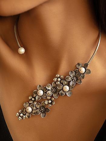 Jen W Necklace in 925 Silver