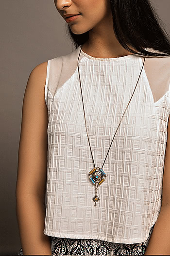 Vartula Dome Necklace