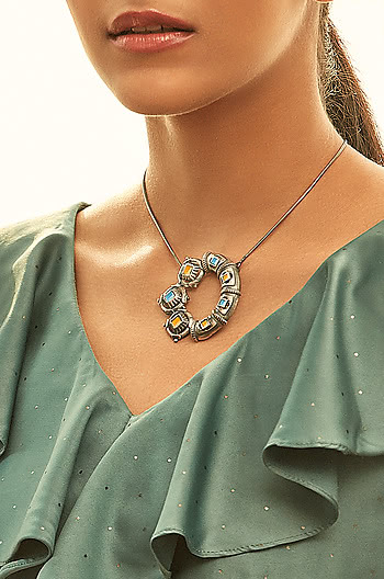 Antique Karmuka Sculpture Necklace