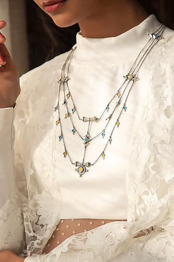 Antique Jeta Vent Necklace
