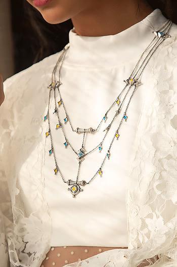 Jeta Vent Layered Necklace