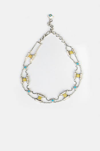 Antique Asat Wall Necklace